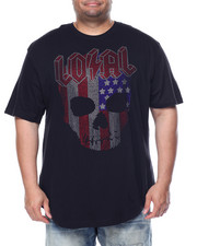 Men - Loyal Rhinestone T-Shirt (B&T)