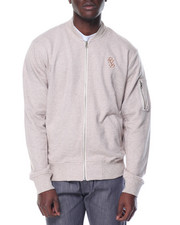 Men - DMND Fleece Bomber Jacket