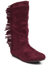 Women - Fame Pullup Boot W/Fringe