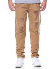 Basic Essentials - Basic Distressed Twill Pants