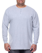 Men - Two - Button Thermal Henley (B&T)