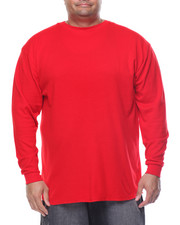 Basic Essentials - Fitted Lightweight Crew Neck L/S Thermal (B&T)-2077052