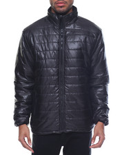 Outerwear - Basic Quilted Nylon Jacket