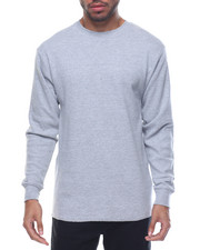 Basic Essentials - Fitted Lightweight Crew Neck L/S Thermal-2077415