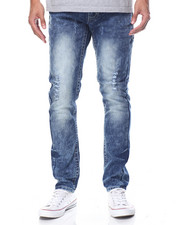 Men - Monarchy Cloud - Wash Flap - Pocket Denim Jeans