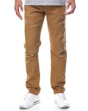 Men - Slashed Flex Twill Pant