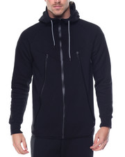 Basic Essentials - Tech Fleece Full - Zip Hoodie-2077914