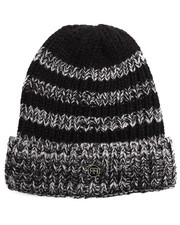 Men - BLACK STRIPE BEANIE