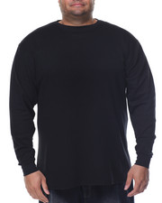 Basic Essentials - Fitted Lightweight Crew Neck L/S Thermal (B&T)-2077864