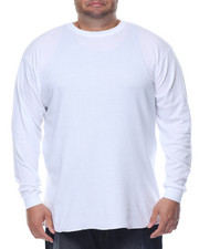 Basic Essentials - Fitted Lightweight Crew Neck L/S Thermal (B&T)-2078278