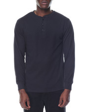 Men - Two - Button Thermal Henley
