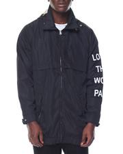 Outerwear - LOST DETACHABLE HOOD COACH JACKET