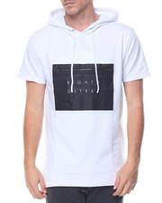 T-Shirts - Matte Rubber Print S/S Hoodie