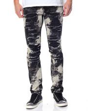 Jeans & Pants - Clown Killer Colored Rip - Off Denim Jeans