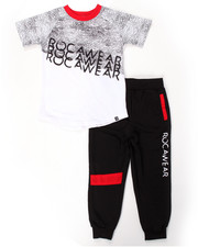 Rocawear - 2 PC SET - TEE & JOGGERS (4-7)
