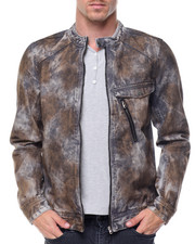 Denim Jackets - Arona Moto Jacket