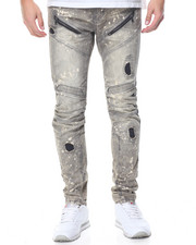 Jeans & Pants - Thistle Grey Moto Jean