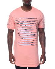 T-Shirts - Razor Slashed Shirt w Tie Dye Detail