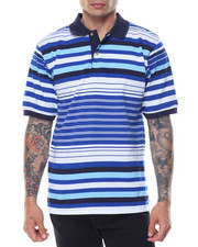 Basic Essentials - Variegated Stripe S/S Polo