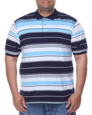 Basic Essentials - Multi - Stripe S/S Polo (B&T)