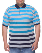Polos - Striped Pique S/S Polo (B&T)