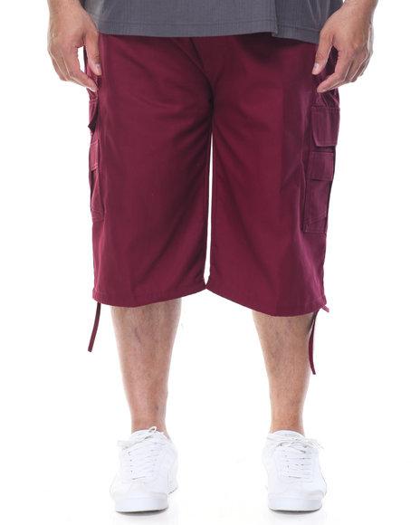 Basic Essentials - Twill Belted Cargo Shorts (B&T)