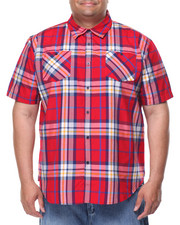 Big & Tall - Frank S/S Button-Down (B&T)
