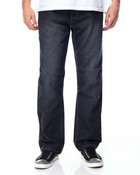 5 - Pocket Stone Washed Denim Jeans