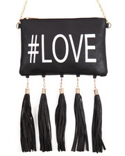 Bags - #Love Hanging Tossles Crossbody Bag