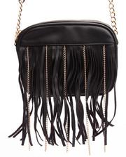 DRJ Accessories Shoppe - Chain Fringe Crossbody Bag