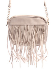 Bags - Chain Fringe Crossbody Bag