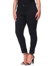 Women - Twill Moto Skinny Jean (Plus)