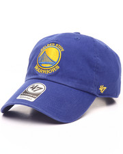 Dad Hats - Golden State Warriors Clean Up 47 Strapback Cap-2083947