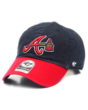 NBA, MLB, NFL Gear - Atlanta Braves Alternate Clean Up 47 Strapback Cap