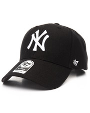 NBA, MLB, NFL Gear - New York Yankees Black & White MVP 47 Strapback Cap
