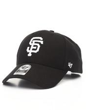 '47 - San Francisco Giants Black & White MVP 47 Strapback Cap