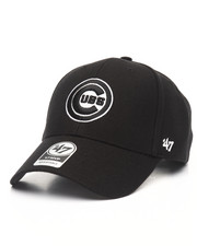 NBA, MLB, NFL Gear - Chicago Cubs Black & White MVP 47 Strapback Cap