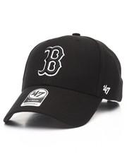 '47 - Boston Red Sox Black & White MVP 47 Strapback Cap
