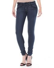 Bottoms - Acid Wash Stretch Skinny Jean