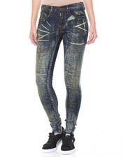 Skinny - Graffitti Wash Stretch Skinny Jean