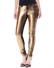 Jeans - Sequin Front Stretch Skinny Jean