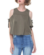 Tops - Angelie Cold Shoulder Top
