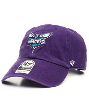 Dad Hats - Charlotte Hornets Clean Up 47 Strapback Cap-2084394