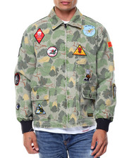 Outerwear - Pacific Tour Patch Jacket