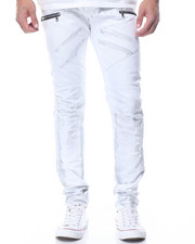 Men - Metallic Hit Moto Jean