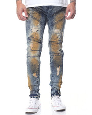 Jeans & Pants - Flint Vintage Moto Jean