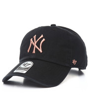 NBA, MLB, NFL Gear - New York Yankees Metallic Clean Up 47 Strapback Cap
