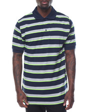 Men - Multi - Stripe S/S Polo