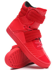 Men - Cylinder Strap Scarlet Python High Top Sneaker