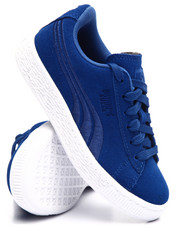 Sneakers - SUEDE CLASSIC BADGE SNEAKERS (11-3)